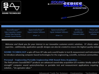 SOUND TECHNOLOGY MEASUREMENT SYSTEMS