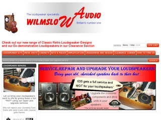 WILMSLOW AUDIO